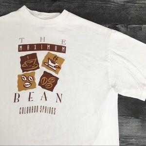 1990s The Bean Colorado Coffee T-shirt